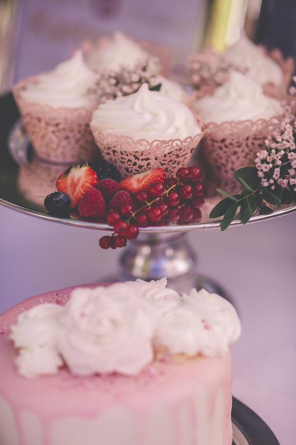 Cup Cakes in rosarot