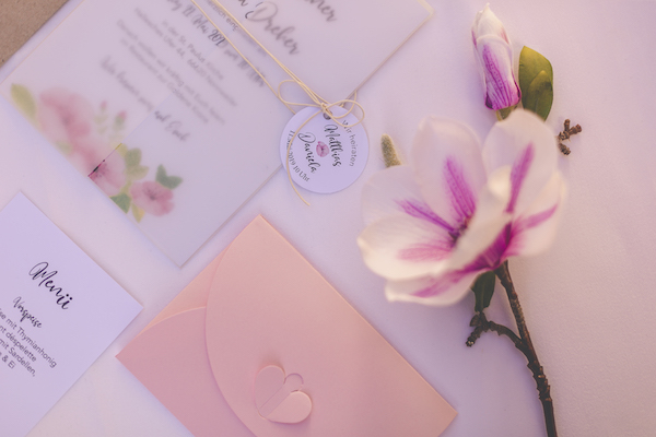 Rosarote Papeterie Details