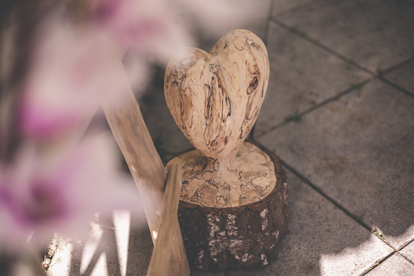 Herz Hochzeitsdekoration