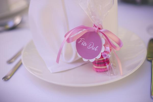 Gastgeschenk in rosarot