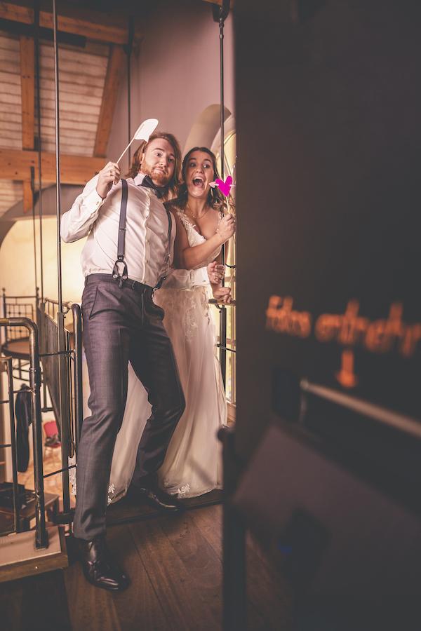 Fotospaß für das Brautpaar