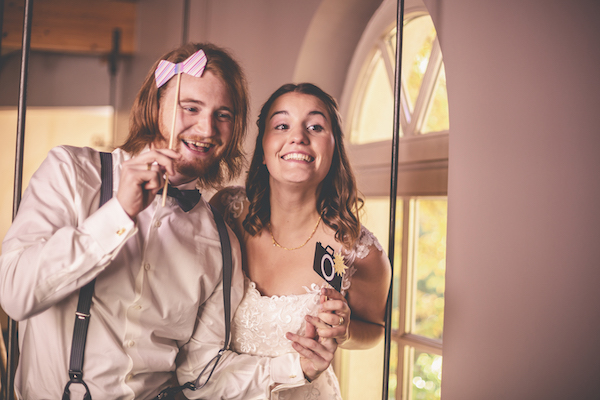 Brautpaar Selfie