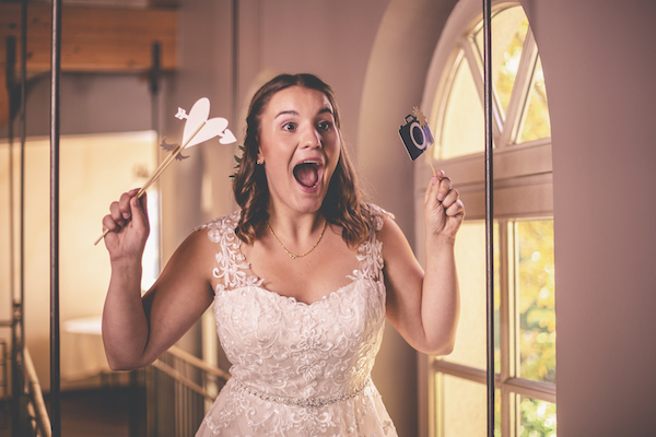 Braut im Fotowahn