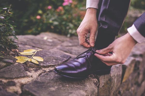 Passendes Schuhwerk für den Bräutigam