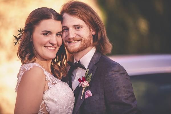 Glück am Hochzeitstag